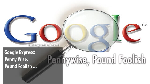 Google Express: Penny Wise, Pound Foolish